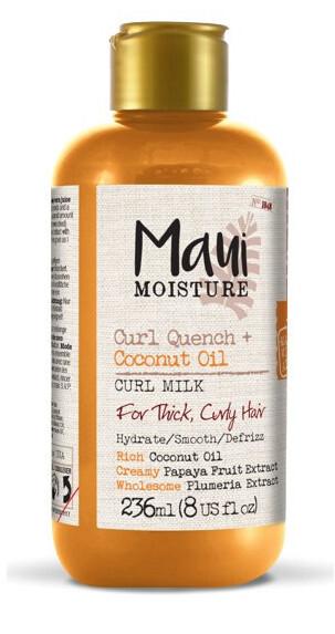 Zobrazit detail výrobku MAUI MAUI vlasové mléko pro husté kudrnaté vlasy + kokos. olej 236 ml