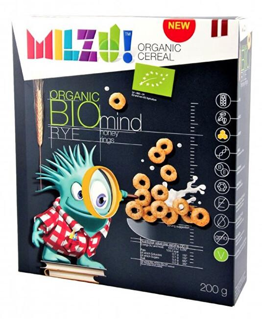 Zobrazit detail výrobku Milzu! Milzu! BIO Cereálni kroužky s medem 200 g