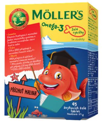 Zobrazit detail výrobku Möller´s Möller`s želé rybičky 45 želé