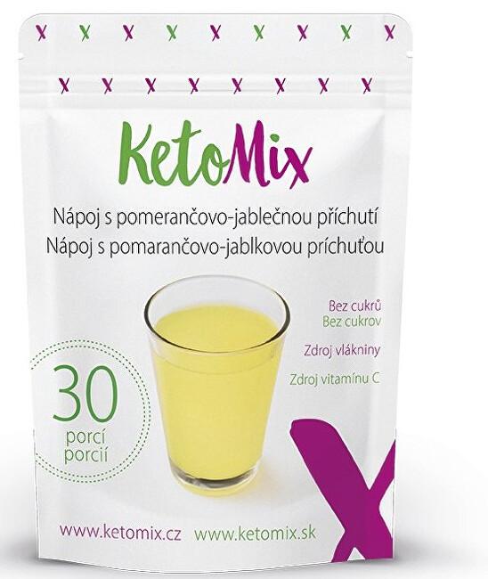 Zobrazit detail výrobku KetoMix Nápoj s pomerančovo-jablečnou příchutí 90 g/ 30 porcí