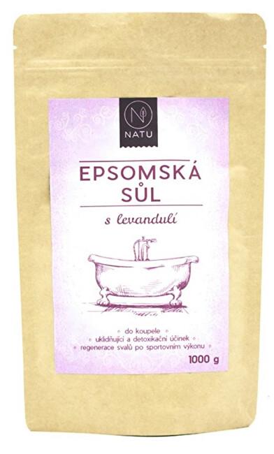 Zobrazit detail výrobku Natu Epsomská sůl s levandulí 1000 g