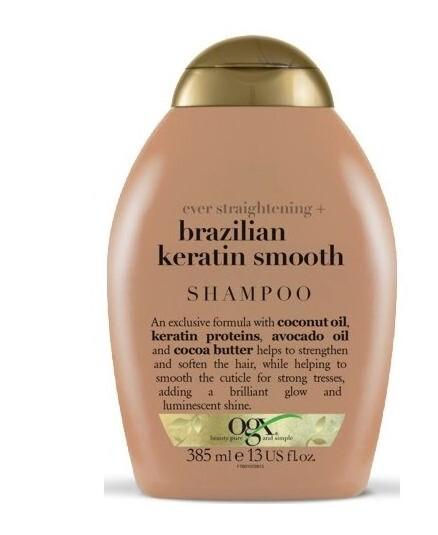 Zobrazit detail výrobku OGX Zjemňující šampon brazilský keratin 385 ml