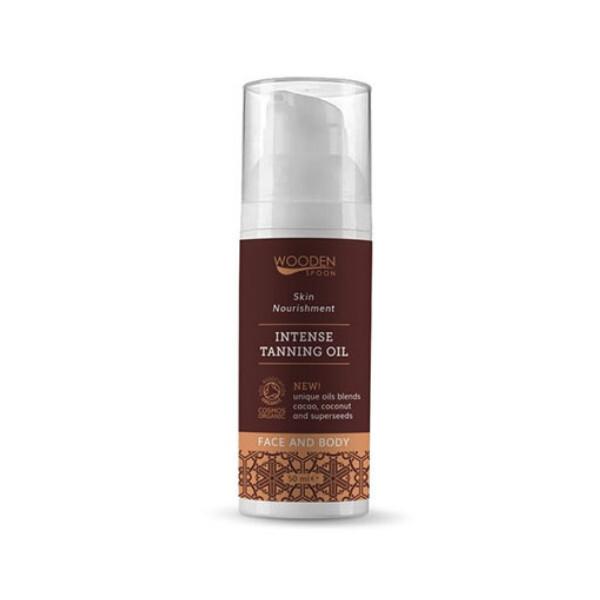 Zobrazit detail výrobku WoodenSpoon Bio olej pro intenzivní opalení 55 ml