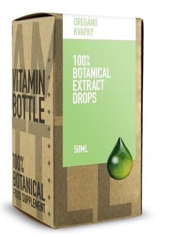 Zobrazit detail výrobku Vitamin Bottle Oreganové olejové kapky, 50 ml