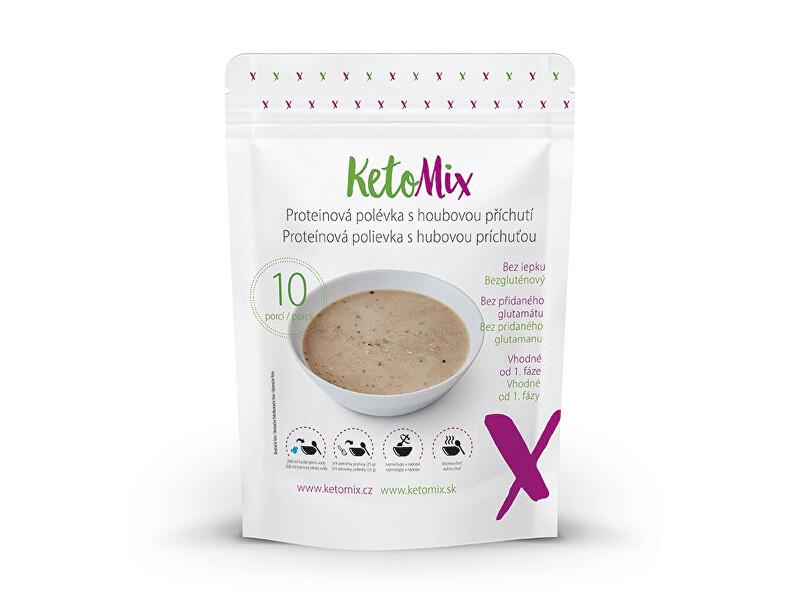 Zobrazit detail výrobku KetoMix Proteinová polévka s houbovou příchutí 10 porcí 250 g
