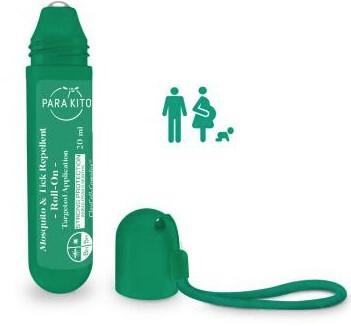 Zobrazit detail výrobku PARA`KITO Roll-on pro silnou ochranu proti komárům a klíšťatům 20 ml