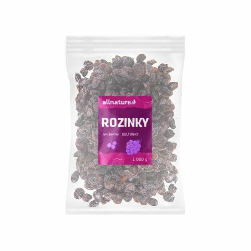 Zobrazit detail výrobku Allnature Rozinky sultánky 1000 g