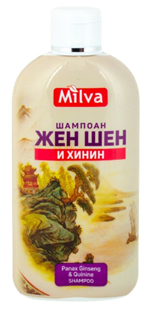 Šampon na vlasy ženšen a chinin 200 ml Milva