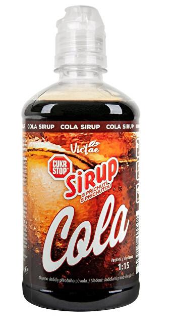 Zobrazit detail výrobku Victae Sirup s příchutí Cola 650 g