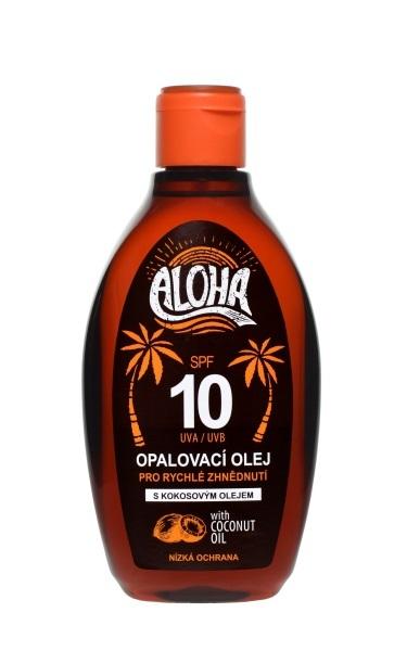 Zobrazit detail výrobku SUN ALOHA bronz opalovací olej OF 10 200 ml