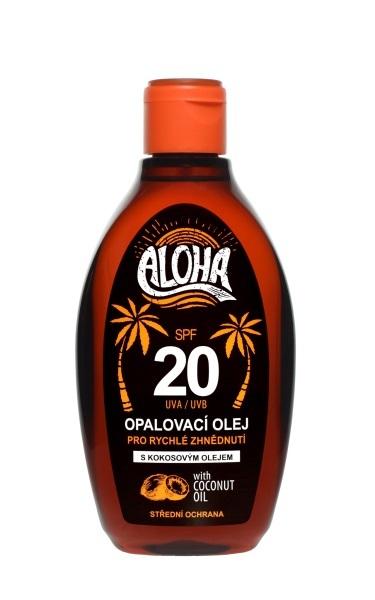 Zobrazit detail výrobku SUN ALOHA bronz opalovací olej OF 20 200 ml