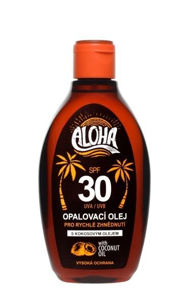 Zobrazit detail výrobku SUN ALOHA bronz opalovací olej OF 30 200 ml