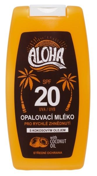 Zobrazit detail výrobku SUN ALOHA opalovací mléko OF 20 200 ml