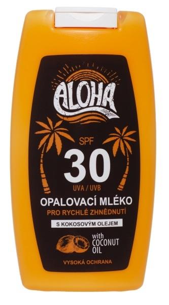 ALOHA opalovací mléko OF 30 200 ml