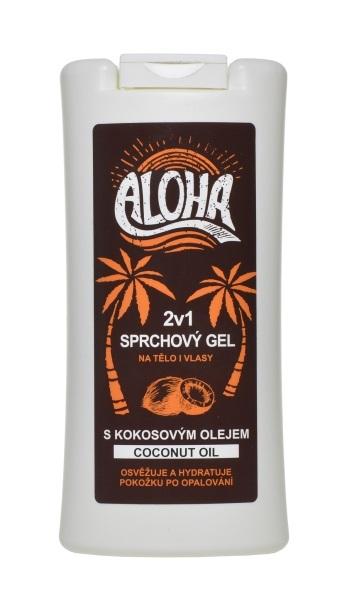 Zobrazit detail výrobku SUN ALOHA sprchový gel 2v1 s kokosovým olejem 200 ml