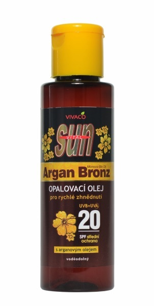 Zobrazit detail výrobku Vivaco Sun opalovací olej s Bio-arganovým olejem SPF20 100 ml