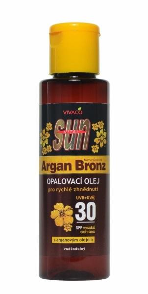 Zobrazit detail výrobku Vivaco Sun opalovací olej s Bio-arganovým olejem SPF30 100 ml