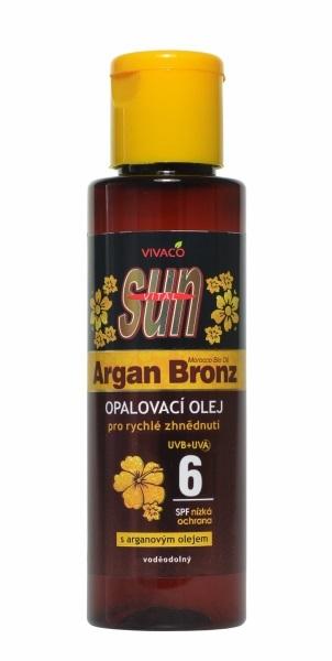 Zobrazit detail výrobku Vivaco Sun opalovací olej s Bio-arganovým olejem SPF6 100 ml