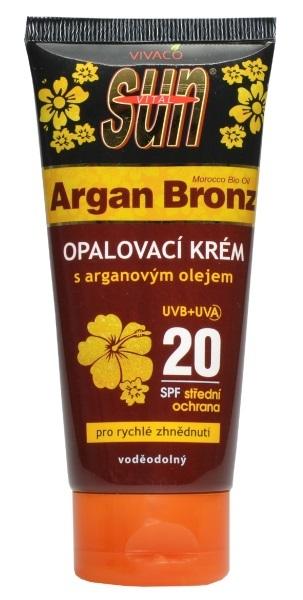 Vital Opalovací krém OF 20 s arganovým olejem 100 ml