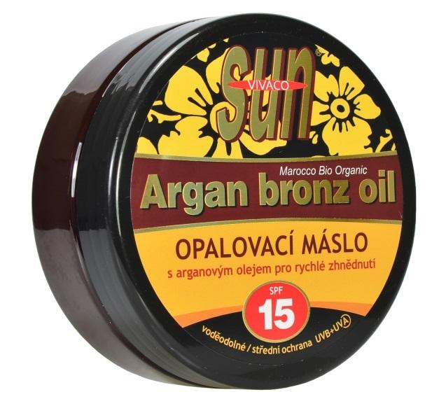 Zobrazit detail výrobku SUN Vital opalovací máslo Argan bronz oil OF 15 200 ml