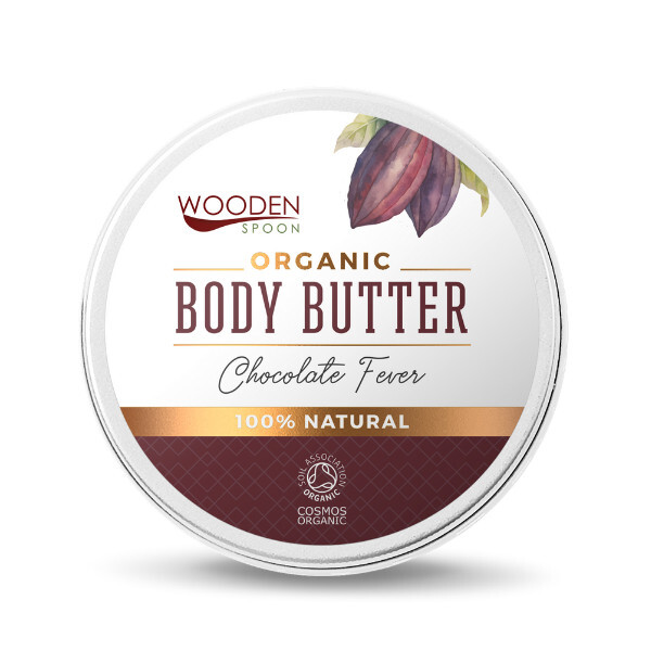 Tělové máslo Čokoládová horečka WoodenSpoon 100 ml