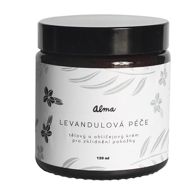 Zobrazit detail výrobku Alma-natural cosmetics Tělový a obličejový krém Levandulová péče 120 ml