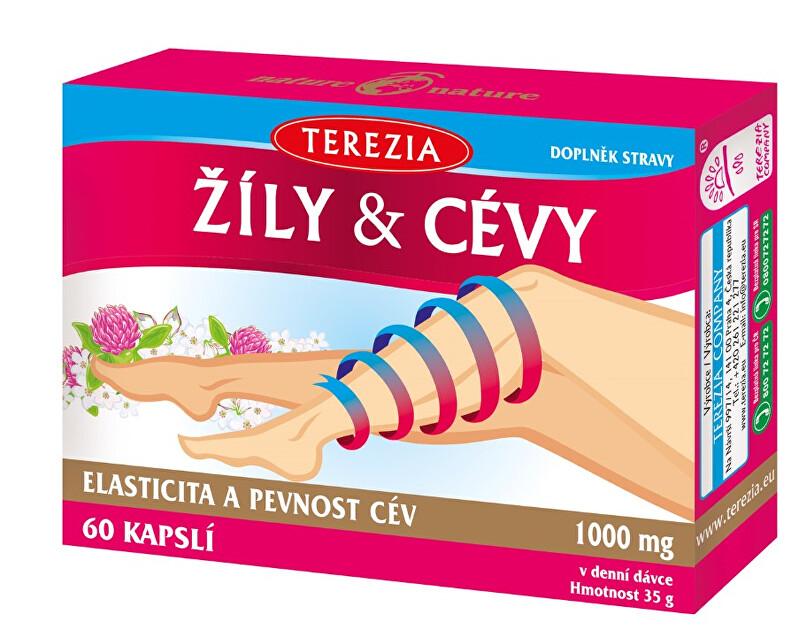 Zobrazit detail výrobku Terezia Company Terezia žíly & cévy 60 kapslí