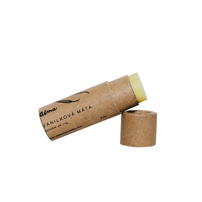 Zobrazit detail výrobku Alma-natural cosmetics Balzám na rty Vanilková máta 9 ml