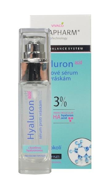 Zobrazit detail výrobku Vivapharm Hyaluronové liftingové sérum proti vráskám 30 ml