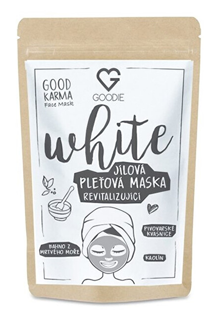 Goodie White Face mask - jilová maska 30 g