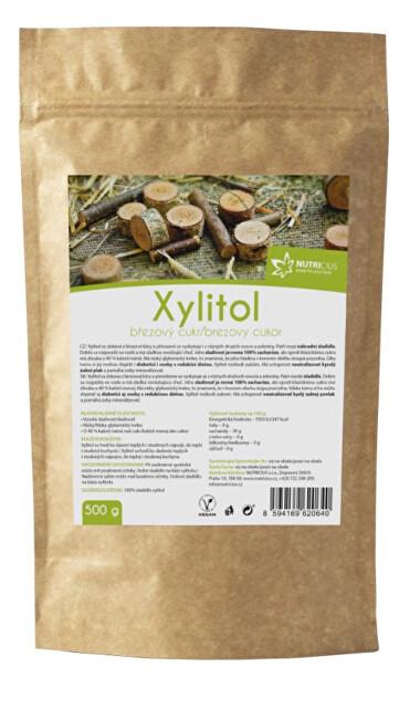 Zobrazit detail výrobku Nutricius Xylitol - Březový cukr 500 g
