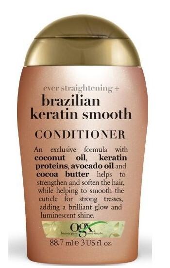 Zobrazit detail výrobku OGX Zjemňující kondicioner s brazil.keratinem 88 ml mini