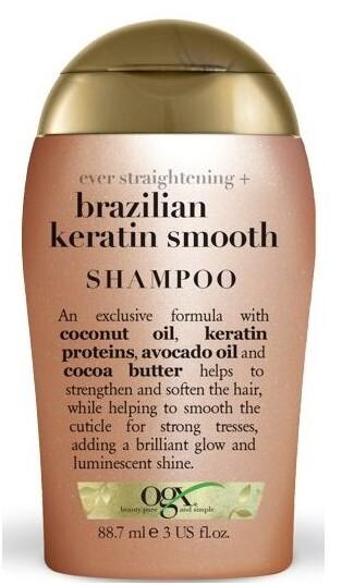 Zobrazit detail výrobku OGX Zjemňující šampon s brazil.keratinem 88 ml mini
