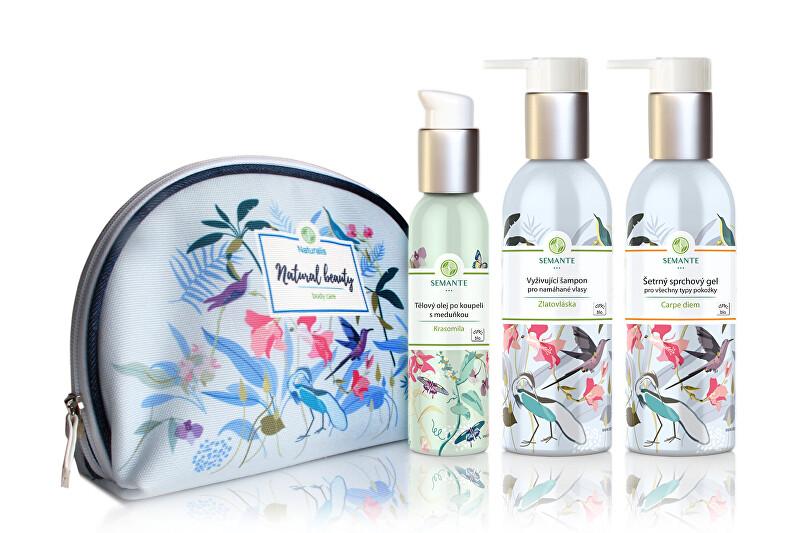 Zobrazit detail výrobku Semante by Naturalis Znovuzrozená - sada přírodní kosmetiky do sprchy BIO
