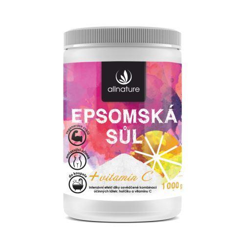 Zobrazit detail výrobku Allnature Epsomská sůl s vitamínem C 1 000 g