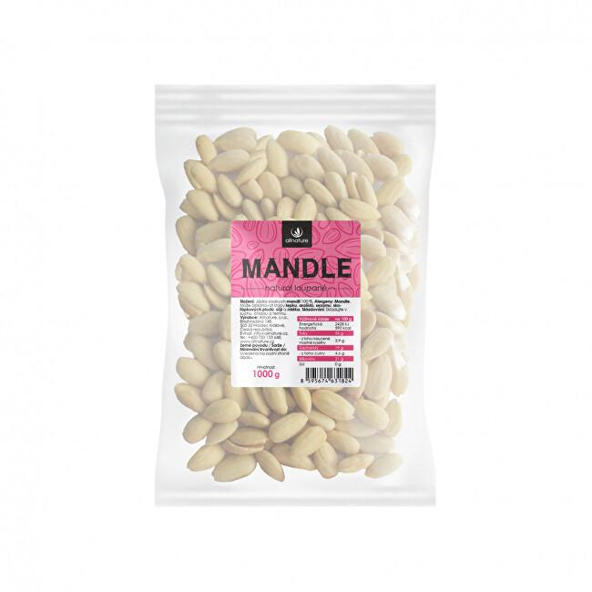 Zobrazit detail výrobku Allnature Mandle jádra loupané 1000 g