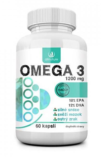 Zobrazit detail výrobku Allnature Omega3 60 kapslí