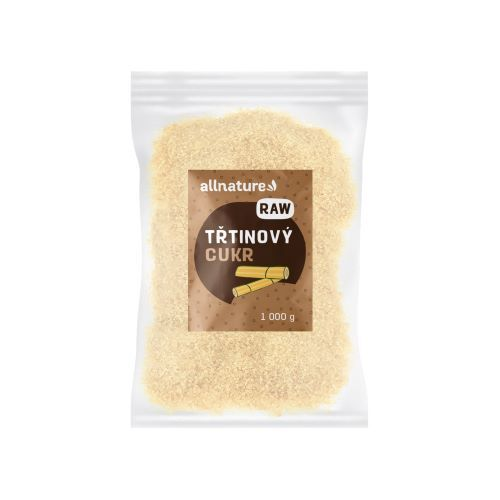 Zobrazit detail výrobku Allnature Třtinový cukr RAW nerafinovaný 1 000 g