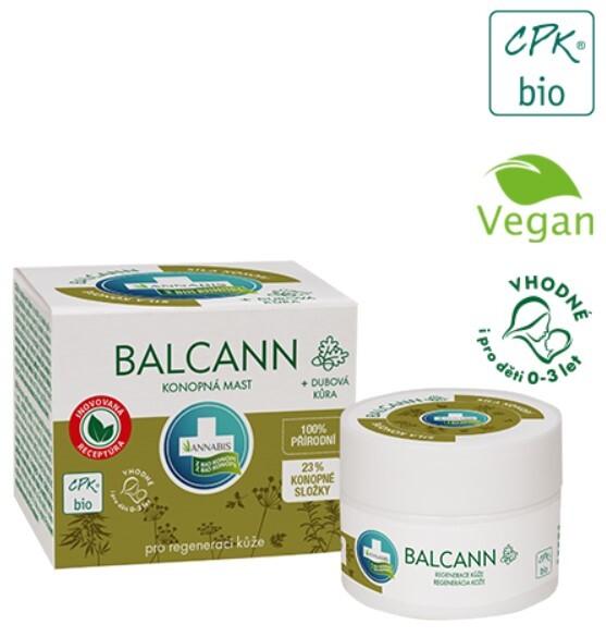 BIO Balcann konopná mast - 50 ml