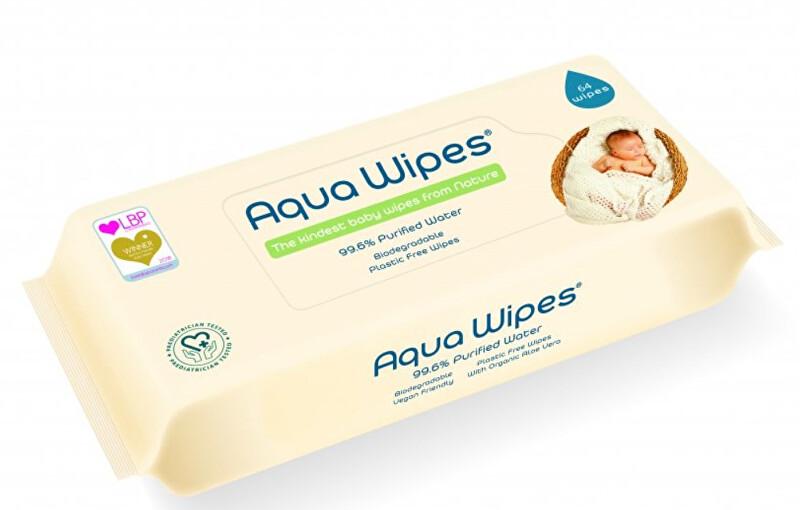 Zobrazit detail výrobku Aqua Wipes EKO dětské vlhčené ubrousky, 64 ks