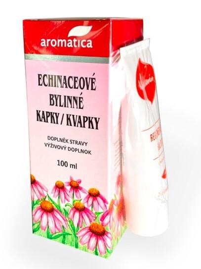 Zobrazit detail výrobku Aromatica Echinaceové kapky 100 ml + Kosmín na rty ZDARMA