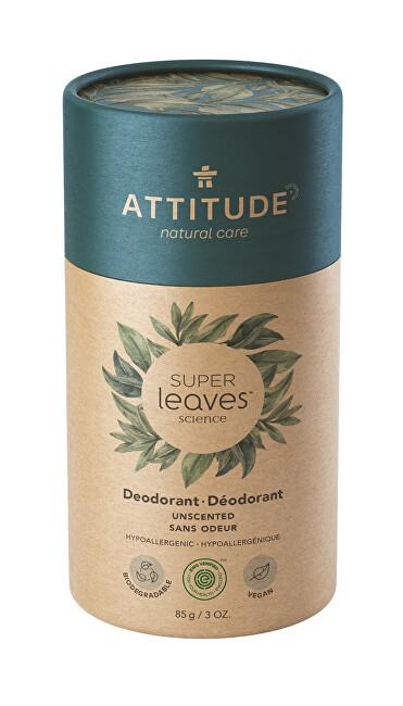Přírodní tuhý deodorant Super Leaves - bez vůně 85 g