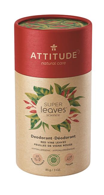 Zobrazit detail výrobku ATTITUDE Přírodní tuhý deodorant Super leaves - červené vinné listy  85 g