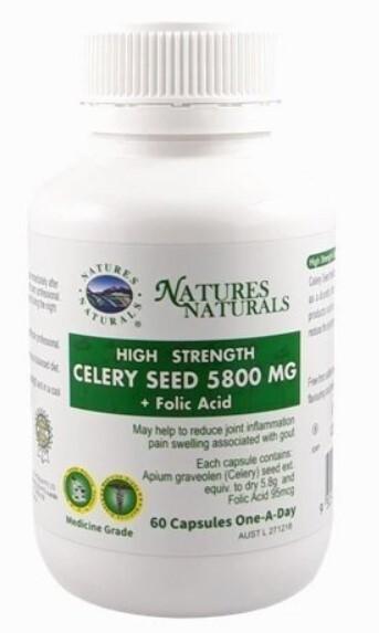 Zobrazit detail výrobku Australian Remedy Celery Seed 5800 mg 60 kapslí