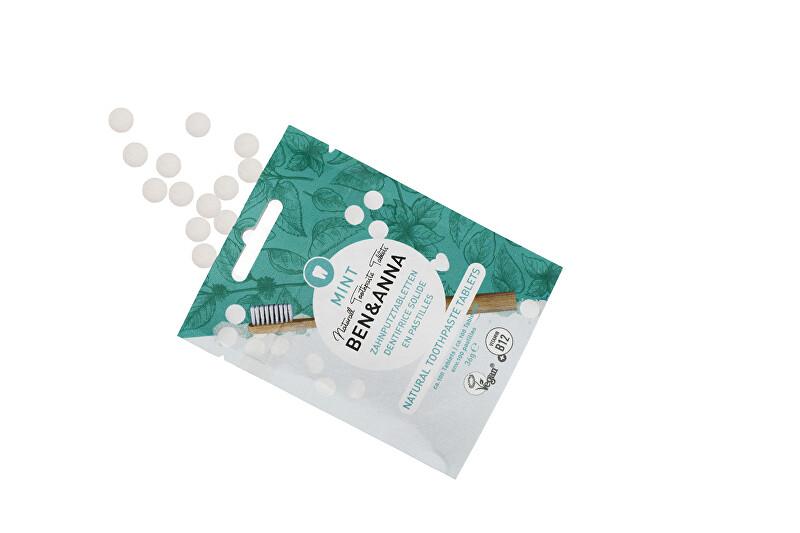 Zobrazit detail výrobku BEN & ANNA Zubní pasta v tabletách bez fluoridu MINT 100 ks