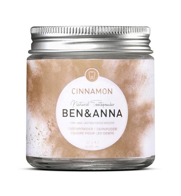 Zobrazit detail výrobku BEN & ANNA Zubní prášek skořice, 45 g