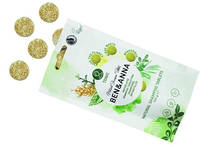 Zobrazit detail výrobku BEN & ANNA Šampon v tabletách TONIC 24 ks