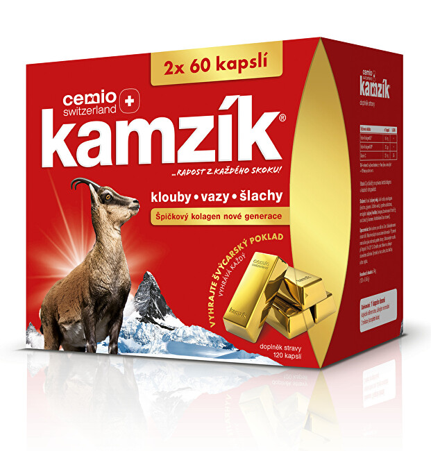 Zobrazit detail výrobku Cemio Cemio Kamzík cps. 120 dárek 2020