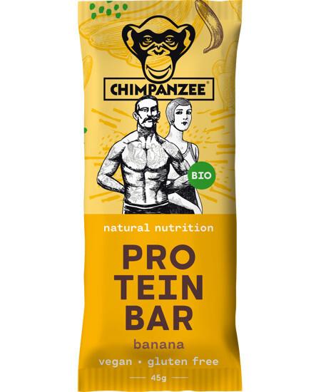 Zobrazit detail výrobku Chimpanzee BIO PROTEIN BAR Banana 45 g