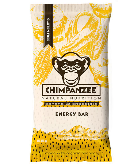 Chimpanzee Energy bar Banana Chocolate 55 g